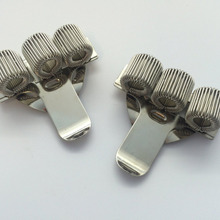 1 шт. тройное отверстие металлическая ручка держатель с карманом клип-доктора, медсестры, униформа и т. Д