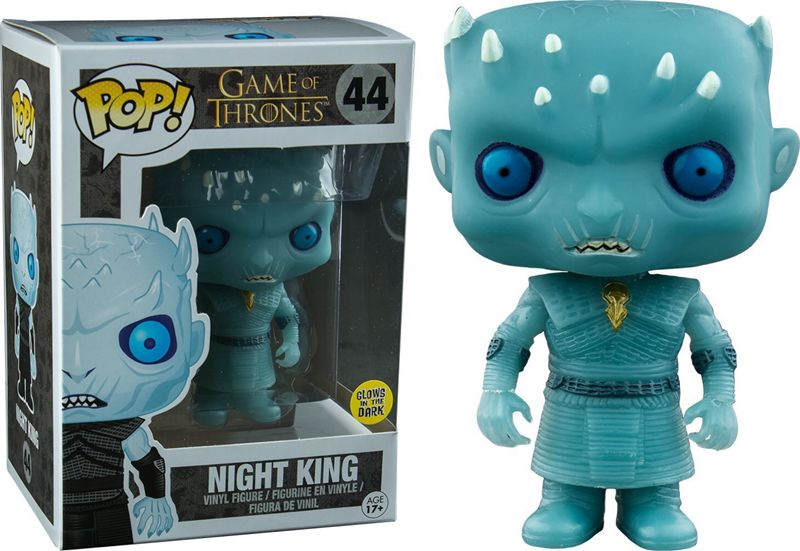 Exclusive Glow in the Dark Funko pop Official Game of Thrones - Night King Vinyl Action Figure Collectible Model Toy game of thrones figurine funko pop jon dragon