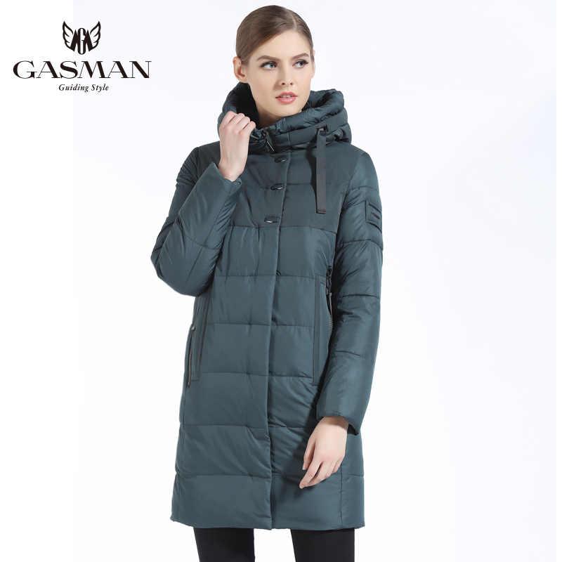 GASMAN 2019 Merk Vrouwen Winter Jas Casual Vrouwen Verdikking Hooded Down Parka vrouwen Winddicht Jas Bio Donsjack voor vrouwen