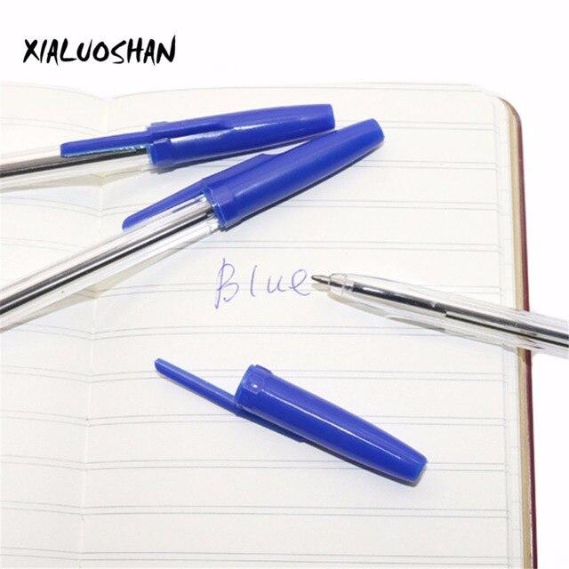 10 Pcs/lot Bullet Ballpoint Pen Ball-point Pen 0.7mm Blue Ink Dedicated Novelty Gift Zakka Material Office School Supplies 2
