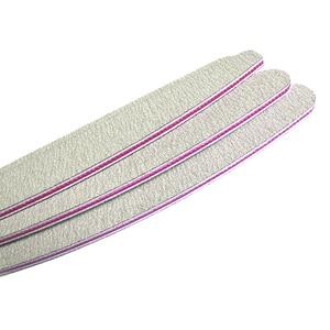 Image 3 - 50 ピース/ロット爪やすり 100/180 サンドペーパーサンディングバッファプロフェッショナルネイルファイルグレーボートサロン爪マニキュア UV ジェルのヒントツール