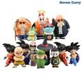 Anime Dragon Ball Z Goku Chiaotzu Pilaf chichi Krillin Kame Sennin childhood Ver. Action Figure Model Toy Christmas Gift CSL103
