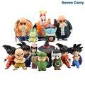 Anime Dragon Ball Z Goku chichi Chiaotzu Pilaf Krilin Kame Sennin infancia Ver. Figura de acción de Juguete Modelo de Regalo de Navidad CSL103