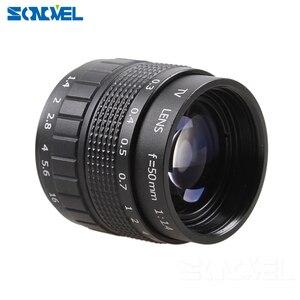Image 3 - 50mm F1.4 CCTV TV 무비 렌즈 + 니콘 1 AW1 S2 J4 J3 J2 J1 V3 V2 V1 미러리스 카메라 C NI 용 C 마운트 + 매크로 링
