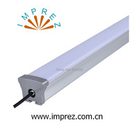 40w 1200mm 4ft led linear light driverless led tri proof lights Ip65 use for parking lot railroad track workshop 5years warranty