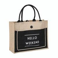 Высококачественная женская льняная роскошная сумка большой вместимости, Женская Повседневная сумка на плечо, Женская Повседневная сумка, ...