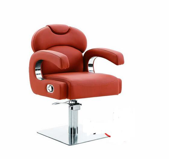 Hair Salons Dedicated Drop Down Hairdressing Chair. Barber's Chair