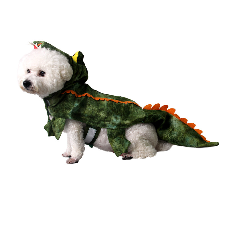 7566924807_1798973395 7587338732_1798973395 7566930574_1798973395 7566912712_1798973395 7587323548_1798973395 7566894759_1798973395 (1) ...  sc 1 st  AliExpress.com & Funny Halloween Dinosaur Crocodile Large Dog Costume Outfits Winter ...