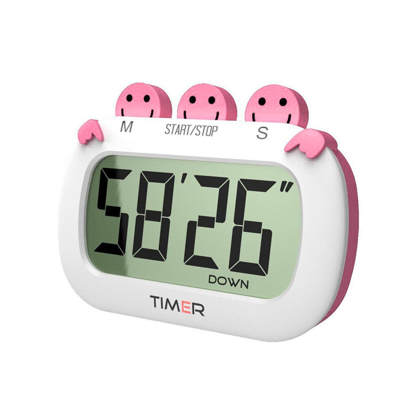 11.11 High Quality New Design Timer Countdown Kitchen Timer 100 Minute Reminder Stopwatch Pink Free Shipping 12.15 ...