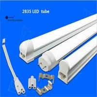 Бесплатная доставка 25 шт./коробка T5 integrated светодио дный трубки, 0,6 м, 0,9 м, 1,2 м светодио дный light tube, бесшовные трубы Замена люминесцентной ламп...