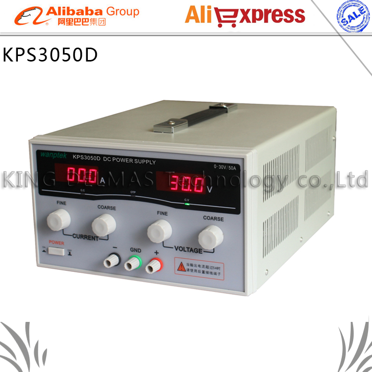KPS3050D High precision High Power Adjustable LED Display Switching DC power supply 220V 0-30V/0-50A For Laboratory and teaching kuaiqu high precision adjustable digital dc power supply 60v 5a for for mobile phone repair laboratory equipment maintenance