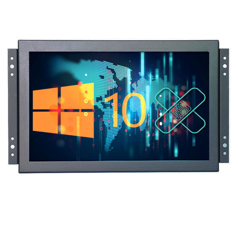 Industrial monitor 10 inch 1920*1200 16:10 wide lcd monitor with AV/BNC/VGA/HDMI/USB interface, with speakers image