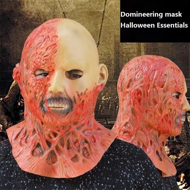 Nausea Rotten Zombie Face Mask