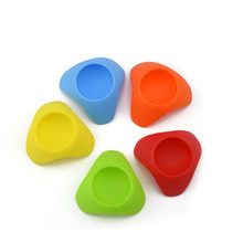 1Pcs Silicone Egg Cup Holder Serving Cups Perfect For Serving Hard And Soft Boiled Eggs Frame Seat