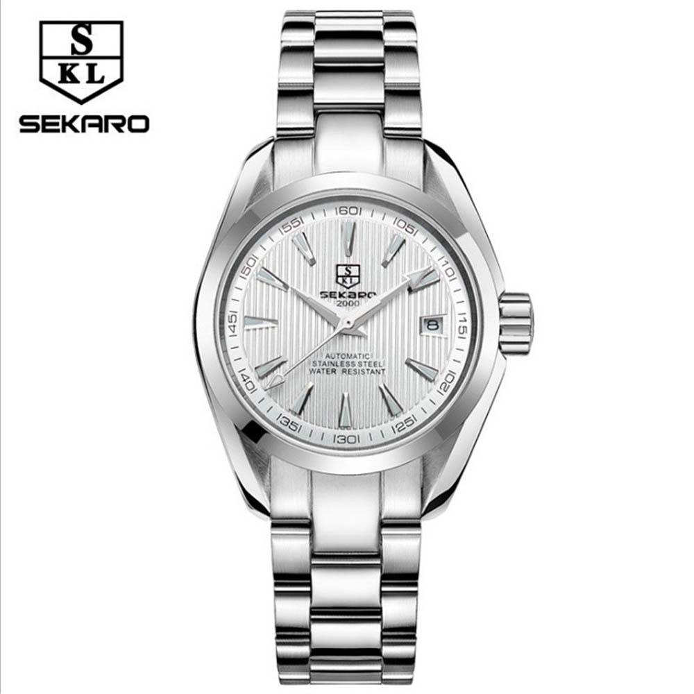 SEKARO Ms Watch Top Brand Luxury Automatic Mechanical Watch Ms Classic Sport Waterproof Luminous Prase Watch Relogio Masculino цена и фото