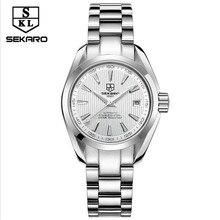 SEKARO Ms Watch Top Brand Luxury Automatic Mechanical Watch Ms Classic Sport Waterproof Luminous Prase Watch Relogio Masculino