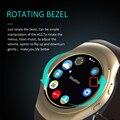 Новый Вращающийся Ободок Часы Полный Круглый Экран Bluetooth Smart Watch AS2 1:1 Монитор Сердечного ритма Для iOS Android Phone