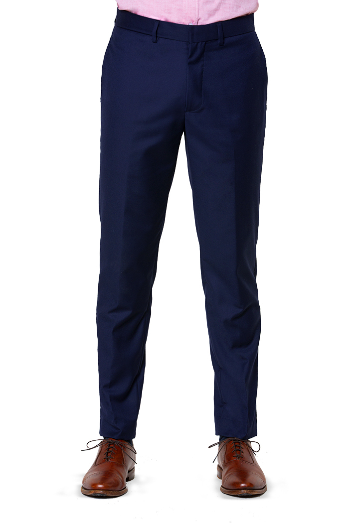 21e0c44c5ac DARK NAVY! CLASSIC COMFORTABLE BUSINESS SUIT PANT WOOL SLIM PANTS FOR MEN  FORMAL-in Suit Pants from Men's Clothing on Aliexpress.com