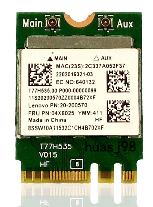 SSEA NEW for Realtek RTL8723BE NGFF Wireless card Wifi Bluetooth 4.0 for IBM/Lenovo E450 E455 Y50-70 Y50-70 04X6025