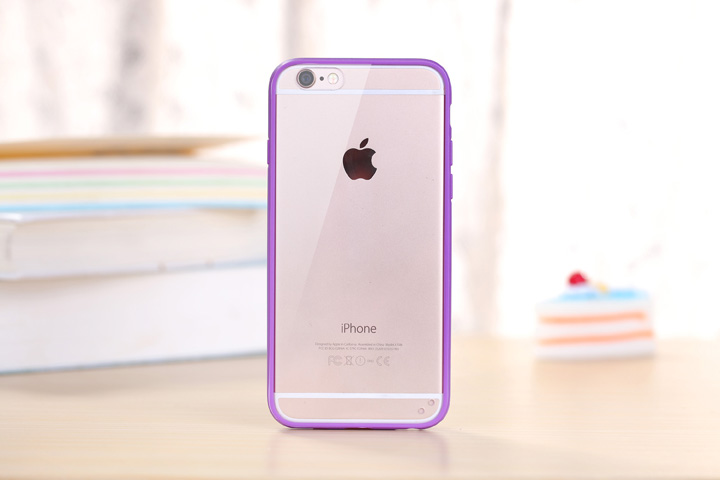 200pcs/lot Free shipping Rainbow candy colour Transparent TPU+Acrylic back case cover for iphone 5 6 7 8 X 6 7 8 plus new case