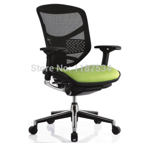 Office Executive lift mesh backrest leather saddle swivel comfortable chair ergonomic office working chair 240337 ergonomic chair quality pu wheel household office chair computer chair 3d thick cushion high breathable mesh