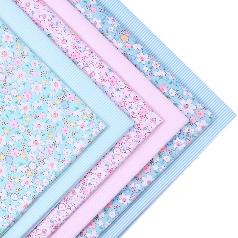 2016New arrival 2 pic/lot 40x50cm Cotton Patchwork fabric tecido sewing bedding bag fabrics tissu quilts Handmade Doll DIY Cloth craft