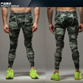Military green 2016 Camouflage Men Pants Fitness Joggers Compression Tights Long Pants Leggings Mens Wear