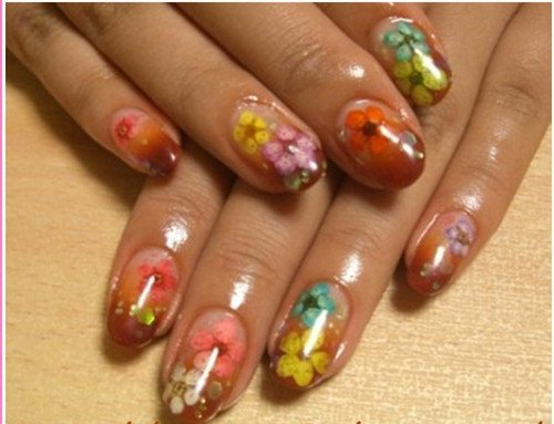 Wholesale 60pcswheel dried flowers dry acrylic nail art wholesale 60pcswheel dried flowers dry acrylic nail art decorations design 20wheellot free shipping in rhinestones decorations from beauty health prinsesfo Gallery