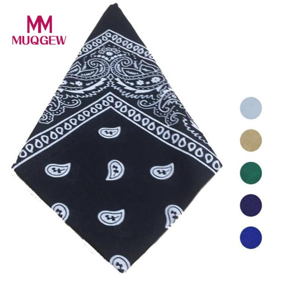 Bandana Scarf Square Head Scarf Bandanas Headwear Sweat-proof & Windproof Bandanas 2018 Camping Cycling Bandanas Neck Gaiter