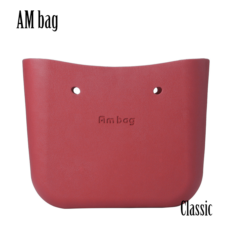 AMbag Obag O Bag Style Classic Big Ambag Body Waterproof EVA Bag Women's Fashion Handbag Rubber Silicon Spare Parts