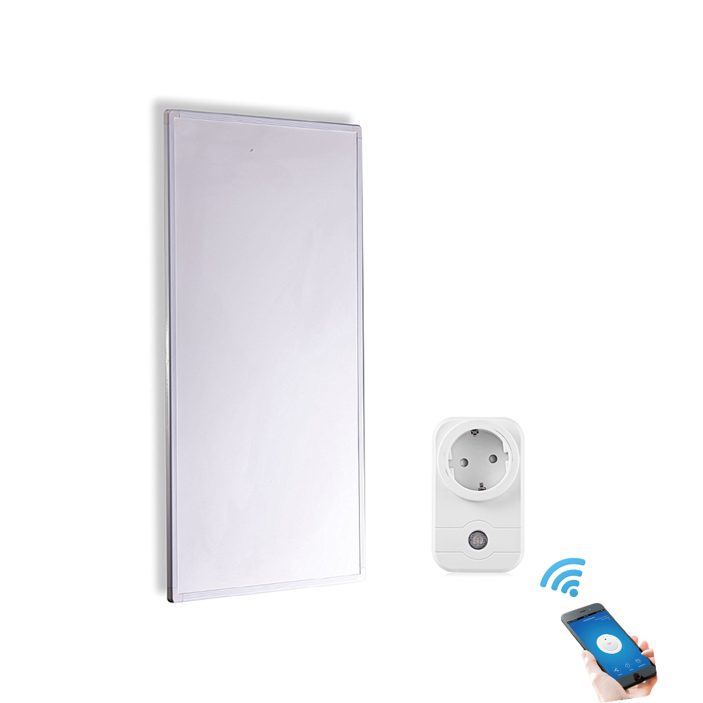 450W Infrared Radiant Panel Heater with Smart WiFi Remote Control Smart Switch Socket Energy Saving wifi thermostat controlled by ios smart phone energy saving infrared radiator controller