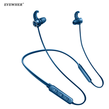 Magnetisk Bluetooth Hörlurar IPX5 Vattentät trådlösa hörlurar sport bas bluetooth headset med mikrofon för telefon för xiaomi