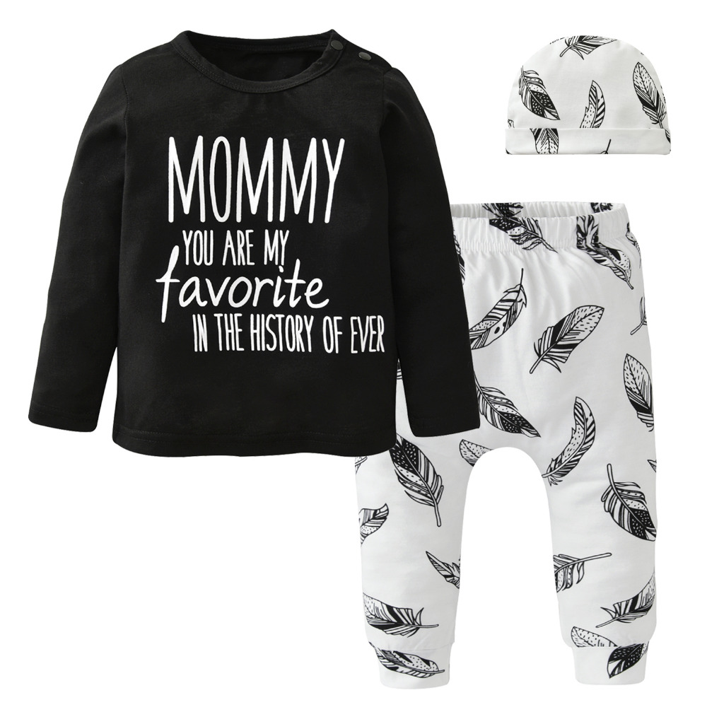 Cute Baby Boy Clothes Newborn Baby Girl Clothing Set ...