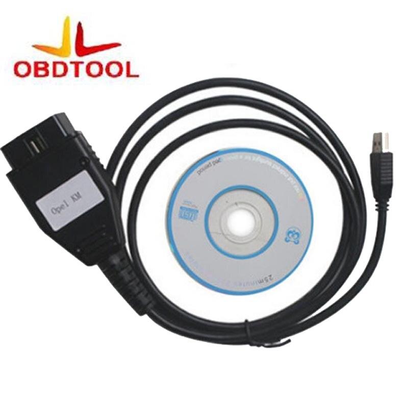 ObdTooL 0PEL כלי אבחון באיכות גבוהה KM כלי אופל קילומטר EDC 16 כלי תיקון קילומטראז ', ODO מד התאמת כלי