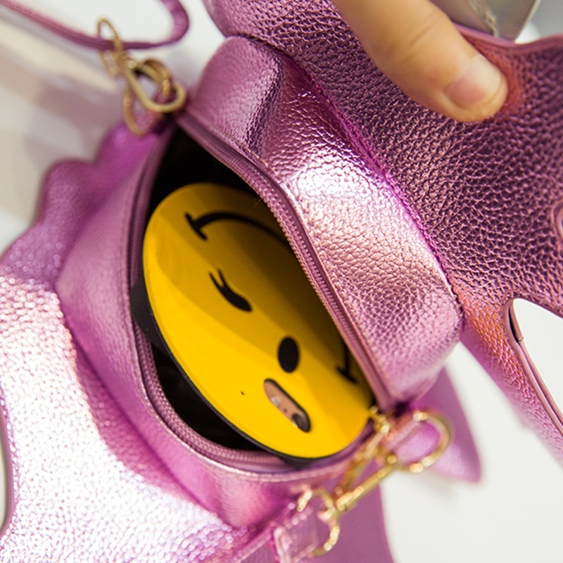 Brand Women Unicorn Funny Bag Female Bright Surface Crossbody Shoulder Bags Cute Laser Sequin Designer Handbags In From