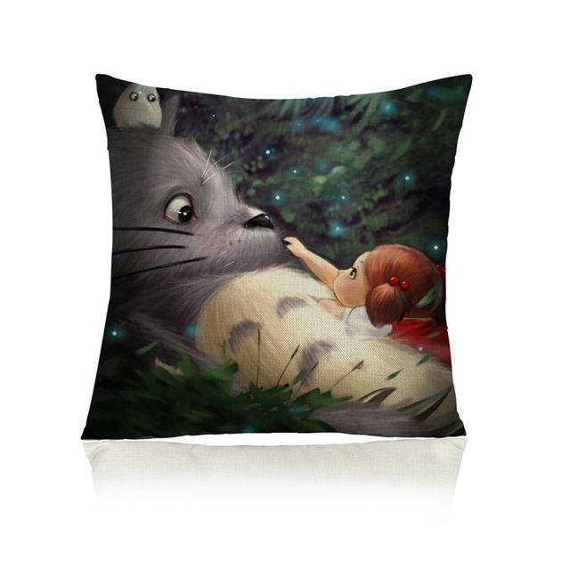 SALE!! 45x45cm Cute Totoro Pillow Cover