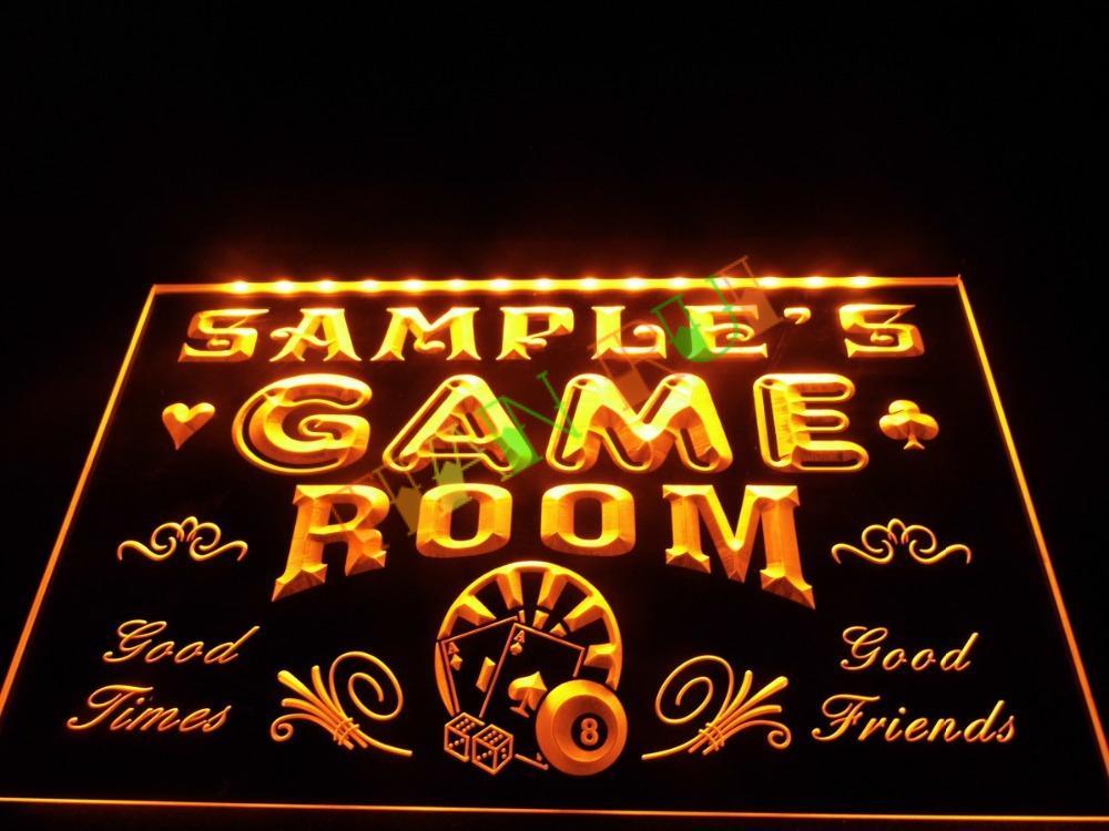 dz013 game room man cave beer bar led neon light sign hang sign home decor shop crafts in event. Black Bedroom Furniture Sets. Home Design Ideas