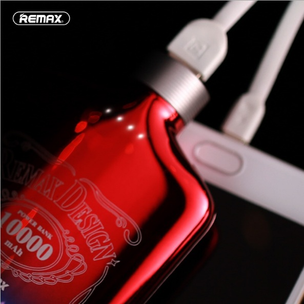 Creativedesign Fashion powerbank Colorful red wine bottle Characteristic Mobile Power Supply High-capacity High Performance
