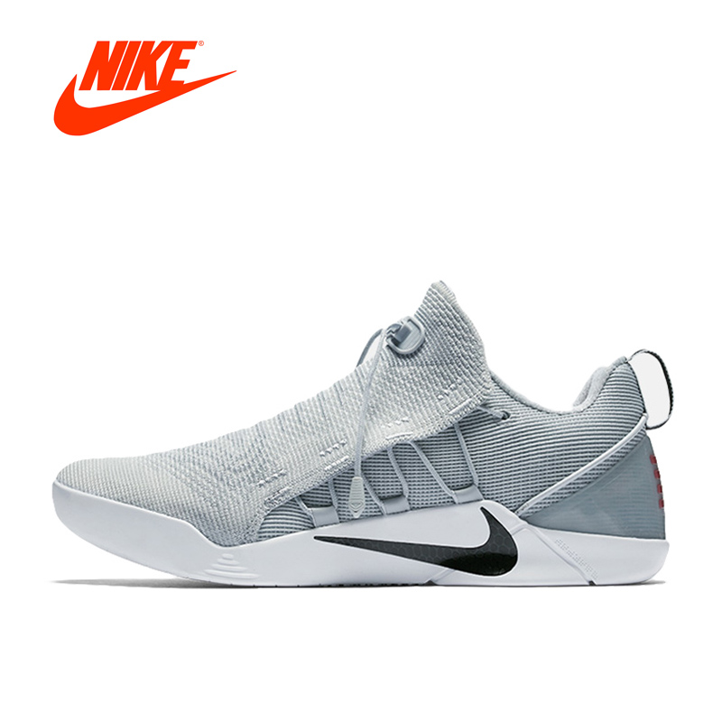 Original Nike KOBE A.D.NXT Men s Cushioning Light Breathable Basketball  Shoes Outdoor Sneakers 882049-002 Anti-skid Low shoes 5e1838a6d62a