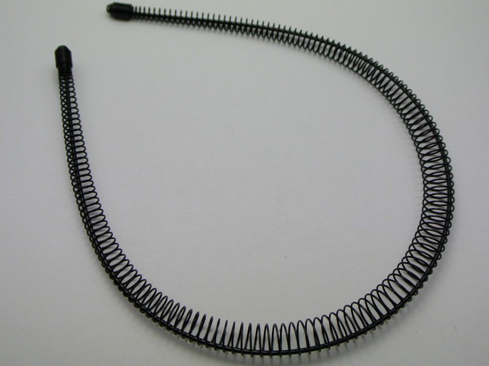 10 Fashion Unisex Metal Black Flexible Spiral Coil Wire Headbands-in DIY  Craft Supplies from Home   Garden on Aliexpress.com  a87a7e90293