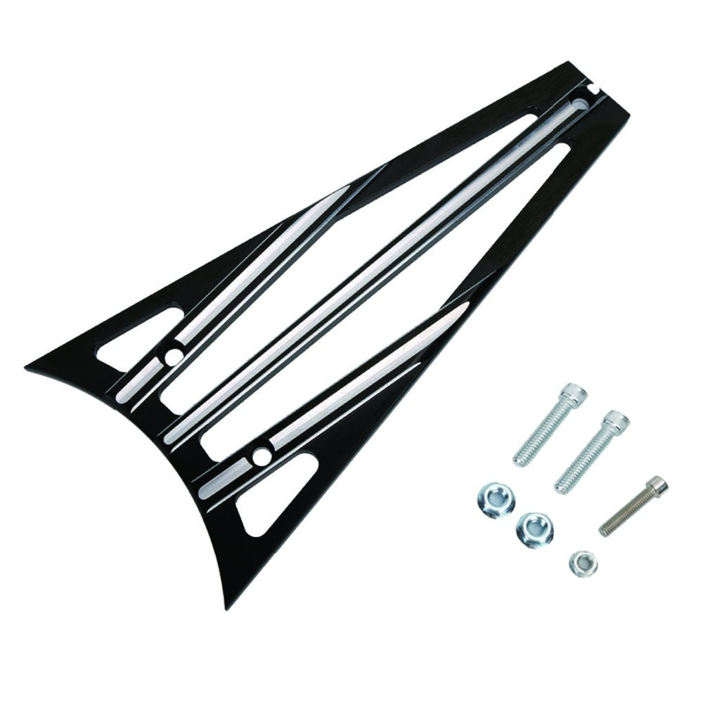 CNC Aluminum Deep Cut Frame Grill Engine Guard Grille Cover for Harley Touring Street Glide FLHX 1993-2013 C/5 koleroader aluminum deep cut frame grill