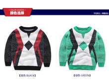 kids knitted sweater autumn winter baby boys sweater children infant girls  solid color simple sweater for 3-11T