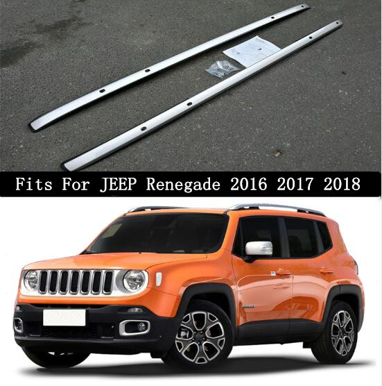 Automobiles & Motorcycles Fast Deliver Jinghang Aluminium Alloy Car Roof Rails Rack Baggage Luggage Carrier Bars Fit For Jeep Renegade 2016 2017 2018 Exquisite Traditional Embroidery Art Roof Racks & Boxes