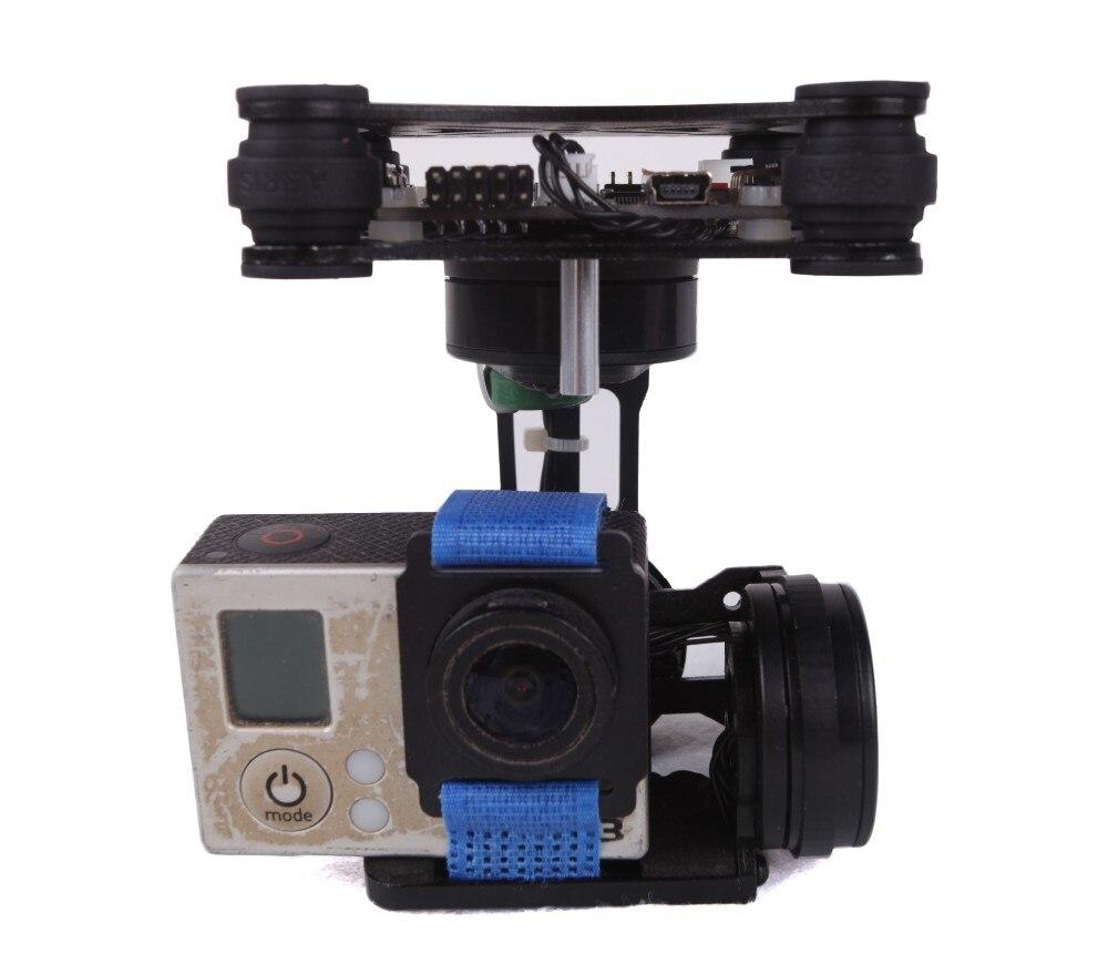 3-Axis Brushless Gimbal Camera Mount & 32bit Storm32 Controller for DJI Phantom 1 2 &Walkera QX 350 2015 hot sale quadcopter 3 axis gimbal brushless ptz dys w 4108 motor evvgc controller for nex ildc camera