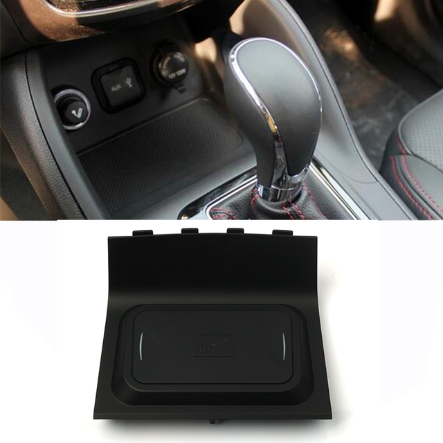 For Changan CS55 CS75 10w car wireless qi charger wireless mobile phone charger fast charging plate phone holder accessories