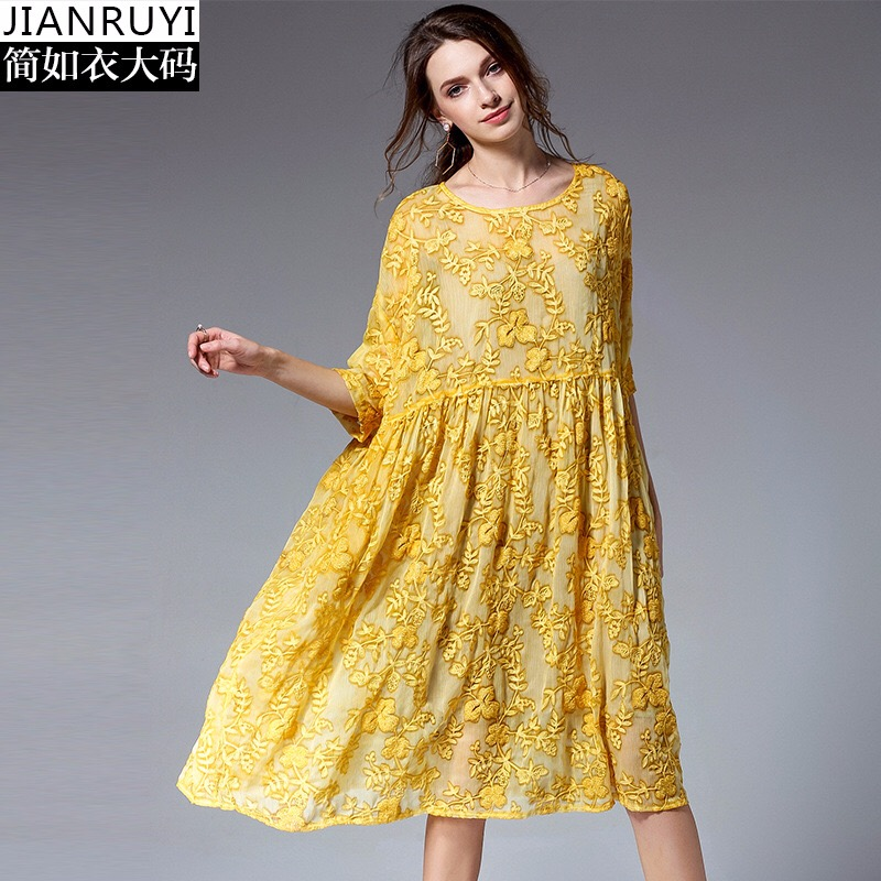676e770e8a5 2018 Summer Woman Dress Elegant Maternity Dresses Loose Pregnancy Clothes  Modal Pockets Embroidery Plus Size Europe Style