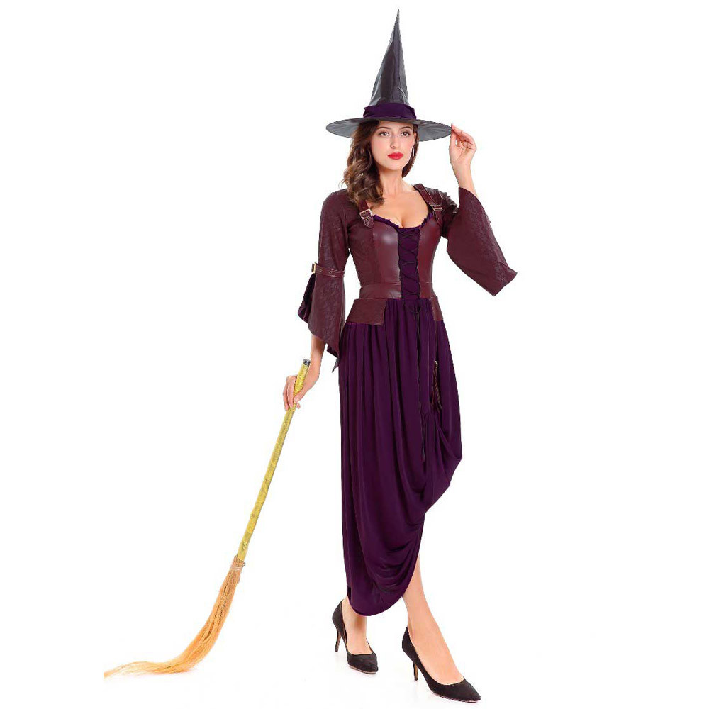 Female Halloween Costume Party Cosplay Queen Costume Gothic Gothic Witch Vampire Fancy Dress