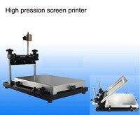 수동 조작 작은 평면 스크린 프린터