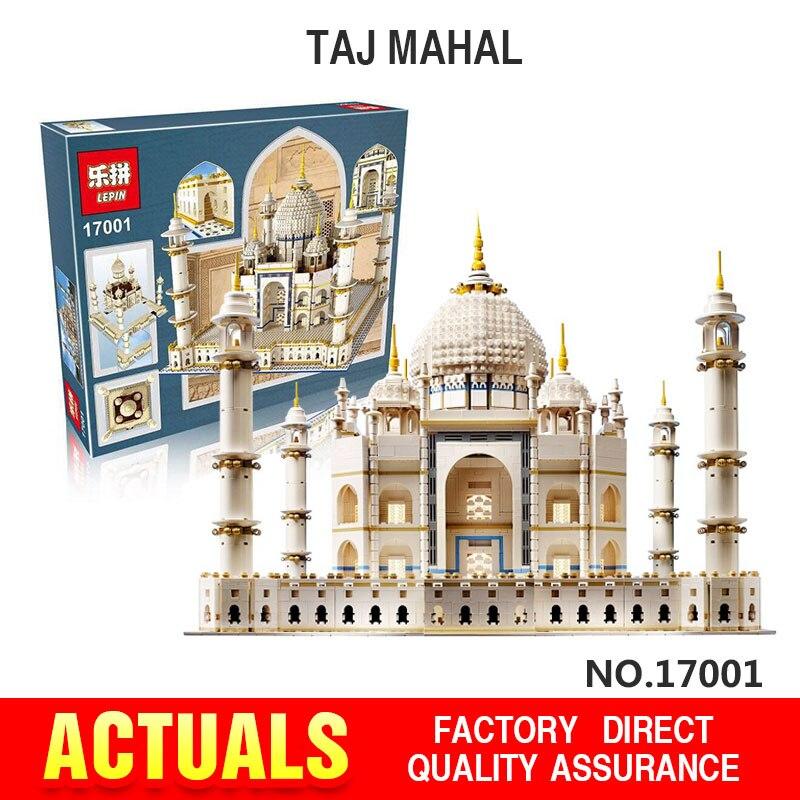 New LEPIN 17001 5952pcs Genuine The Tai Mahal Model Educational Building Kits Brick Toys Compatible 10189 Gift