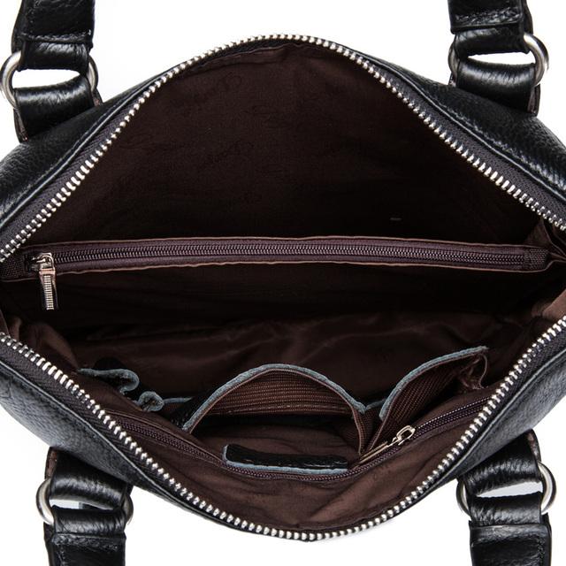 Genuine Leather Men's Messenger Bag